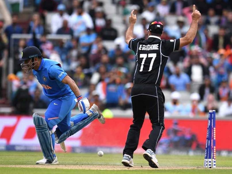 Finally MS Dhoni reveals this regret for being run out in World Cup Semifinal against New Zealand