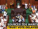 "Video : ""Want To Stick To My Word"": Karnataka Speaker Wants Trust Vote Done"