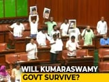 Video : Hold Karnataka Trust Vote Now, Ruling Coalition Stalling: BJP To Governor
