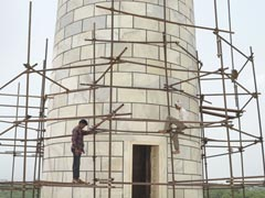 Taj Mahal Minaret Repair Work To Be Completed Before World Tourism Day