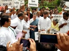 Sonia, Rahul Gandhi Join Protests After Karnataka, Goa Congress Meltdown