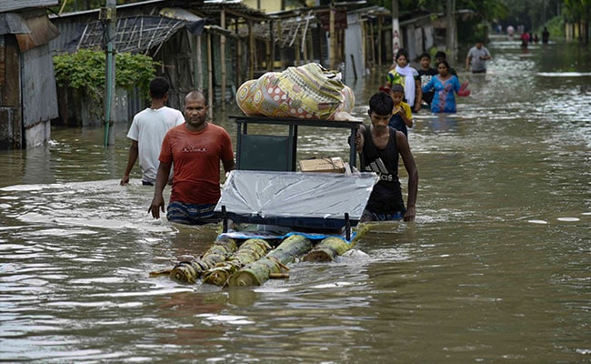 Number Of Deaths In Assam Floods Reaches 81, Water Re-Enters One District