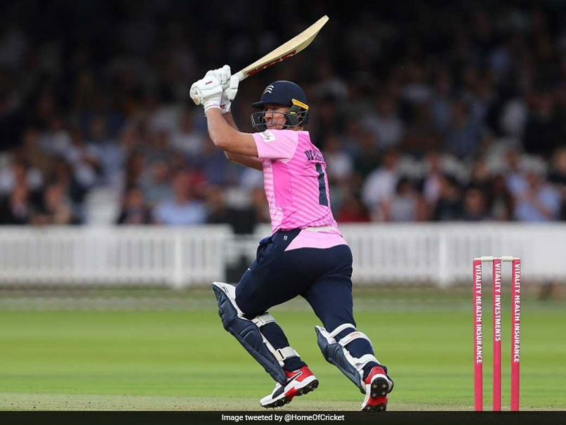 Watch: AB De Villiers Wows Fans With Whirlwind Knock In England T20 Tournament