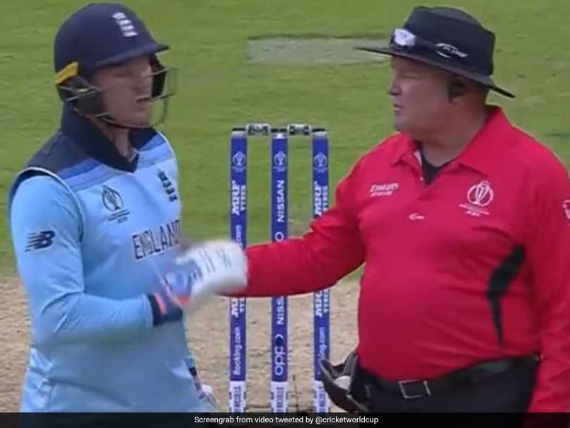 World Cup 2019: Jason Roy Fumes, Refuses To Walk After Controversial Dismissal - Watch