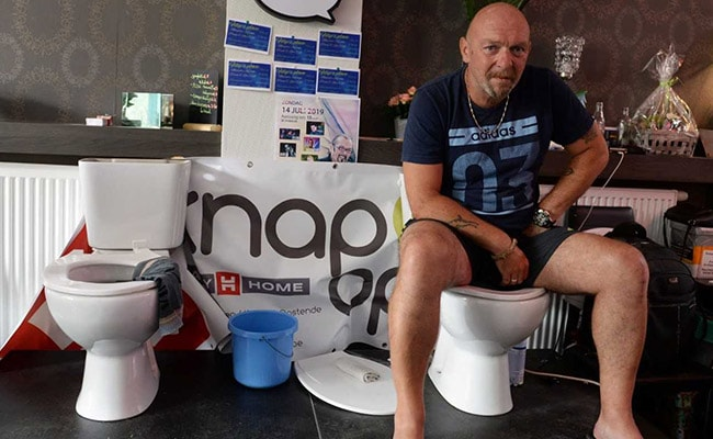The Longest Toilet Break? Belgian Man Sits For 5 Days In Bid For Record