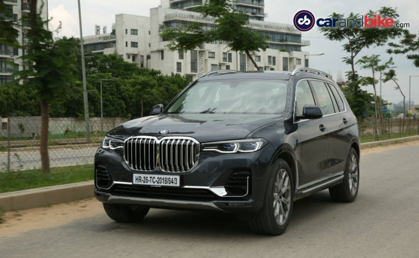 The BMW X7 xDrive30d is assembled in India at BMW's Chennai plant, and is priced at Rs. 98.90 lakh