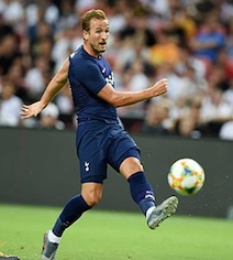 Watch: Harry Kane Scores From Halfway Line In Spurs' Win Over Juventus