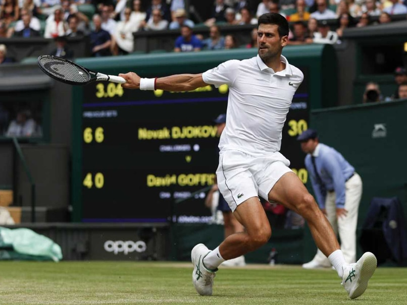 Novak Djokovic To Play Roberto Bautista Agut In Wimbledon Semi-Final