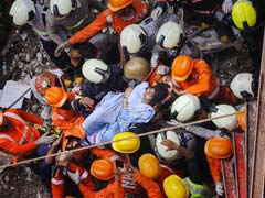 """Golden Shake Hand With Life"": Woman Survives Mumbai Building Collapse"