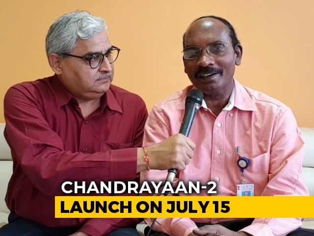 Video : Chandrayaan-2 Will Put Indian Flag On Moon: ISRO Chairman K Sivan