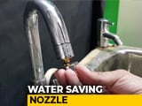 Video : Chennai Engineers Develop Nozzles That Save Water By 95 Per Cent