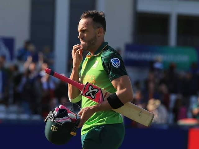 "World Cup 2019: Faf Du Plessis Believes Australia Have ""Learnt"" From Ball-Tampering Row"