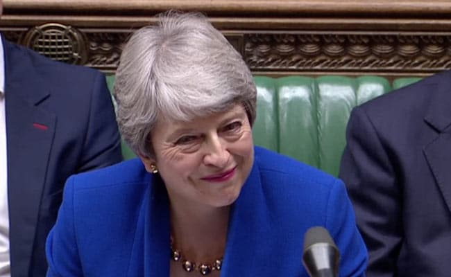 Outgoing PM May Fights Back Tears As She's Applauded Out Of UK Parliament