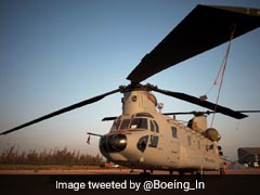 Two Heavy-Lift Chinook Helicopters For IAF Reach Gujarat