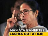 Video : Mamata Banerjee Lashes Out BJP For Tax Notice To Durga Puja Organisers