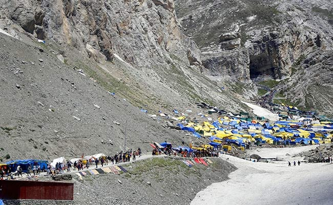 Amarnath Yatra Resumes After Daylong Suspension Due To Bad Weather