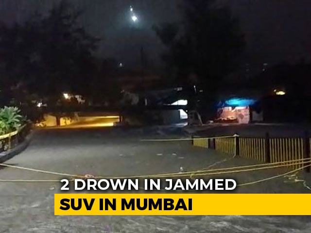 Video : 2 Drown In Jammed SUV In Mumbai's Malad After Record Rain