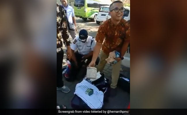 Cringe-Worthy Video Shows Indian Family Busted Stealing From Bali Hotel