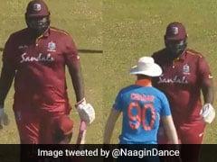 वेस्टइंडीज के 'HULK' को देख घबरा गया भारतीय क्रिकेटर, ऐसे बचा टक्कर से... देखें VIDEO