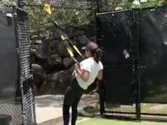 Priyanka Chopra And Nick Jonas Turn Songwriting Camp Into A Gym. See Their Workout