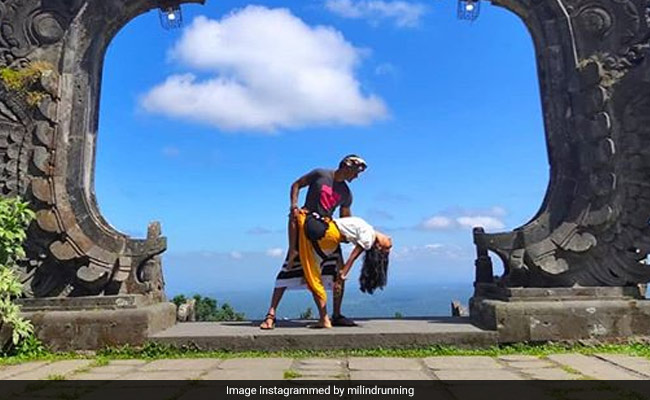 Milind Soman And Ankita Konwar's 'Bali-Wood' Style Romance Has Taken Over Instagram
