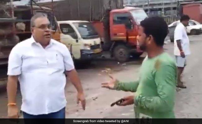 Shiv Sena Corporator Slaps Truck Drivers In Mumbai, Caught On Video