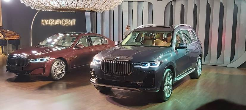 The BMW X7 is cheaper than the 7 Series in India