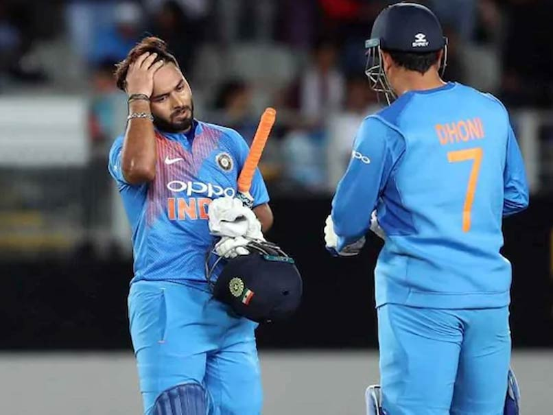 """""""I Take The Challenge Positively,"""" Says Rishabh Pant On Replacing MS Dhoni"""