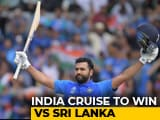 Video : Rohit Sharma, KL Rahul Star In India's Dominant Win Over Sri Lanka