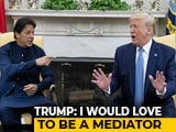 Video : Donald Trump Claims PM Asked For Mediation On Kashmir, India Denies