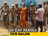 Video : Rajiv Gandhi Killer Nalini Released For A Month For Daughter's Wedding