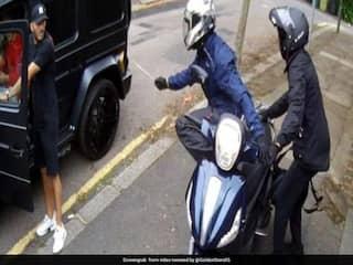 Arsenal Stars Sead Kolasinac, Mesut Ozil Fight Off Knife-Wielding Carjackers - Watch