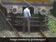 Motorman In Maharashtra Stops Train Midway To Urinate On Track