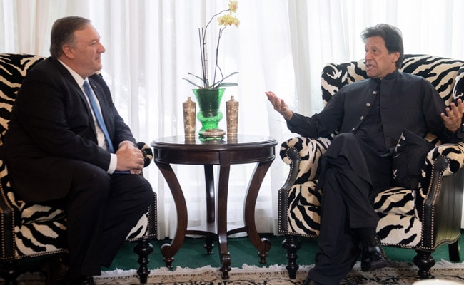 Mike Pompeo Discusses Pak's Role In Afghan Peace Process With Imran Khan