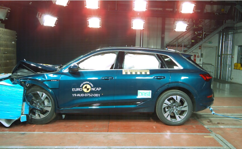 Audi e-tron Scores 5-Star In Euro NCAP Crash Tests