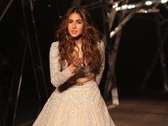 'Nervous' Sara Ali Khan Makes Ramp Debut As Kartik Aaryan and Ibrahim Cheer From First Row
