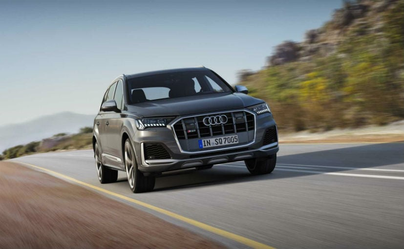 The 2020 Audi SQ7 facelift now sports a wide & imposing single-frame grille that offers a dominating look