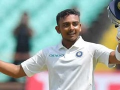 """Accept My Fate"": Prithvi Shaw On Being Suspended For Doping Violation"