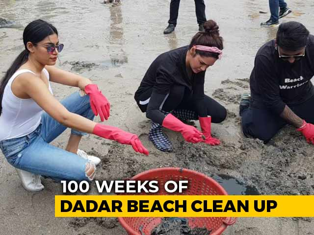 Video : Celebrities, Citizens Team Up For Massive Cleanliness Drive In Mumbai
