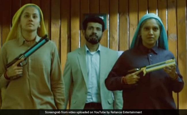 Saand Ki Aankh Teaser: Taapsee Pannu, Bhumi Pednekar Hit Bullseye With Daredevil Swag