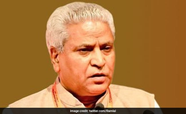 BJP General Secretary Ramlal Sent Back To RSS After 13-Year Stint