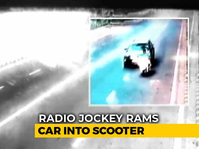 Video : Delhi Radio Jockey Arrested After Man He Hit With His Car Dies