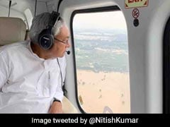4 Dead, 18 Lakh Affected In Bihar; Nitish Kumar Tours Flood-Hit Areas