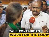 "Video : ""Despite Trust Vote Loss I'm Happy Right Now"": HD Kumaraswamy To NDTV"