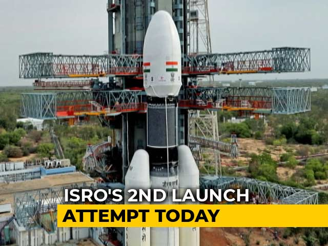 Video : ISRO Set For Chandrayaan-2 Launch Today