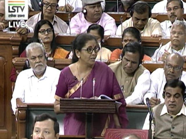 "Video : ""<i>Yakeen ho toh...</i>"" Nirmala Sitharaman's Urdu Poetry In Budget Speech"