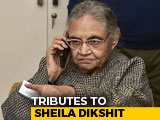 Video : Sheila Dikshit's Last Rites Today, Body Taken To Her Home