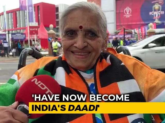 Video : Indian Fan Charulata Patel Brings 'Kaju Katli' For Team India