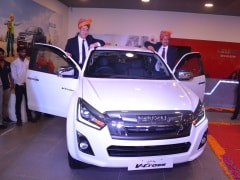 2019 Isuzu D-Max V-Cross Facelift Launched In Jaipur