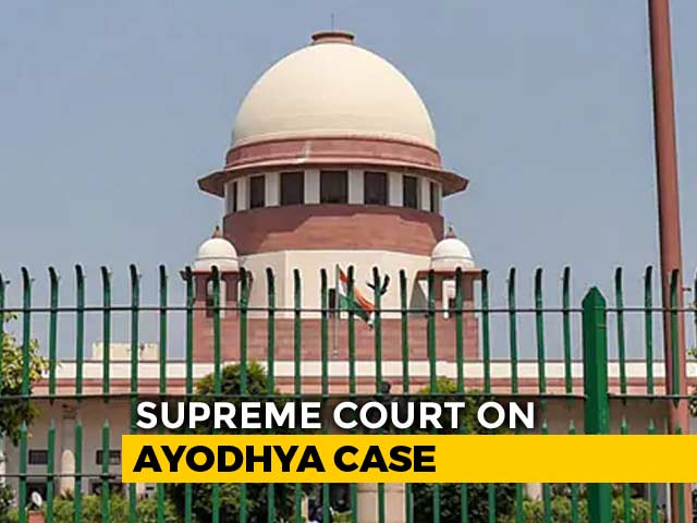Video : Ayodhya Mediation Panel Gets More Time, Top Court Wants Report On Aug 1